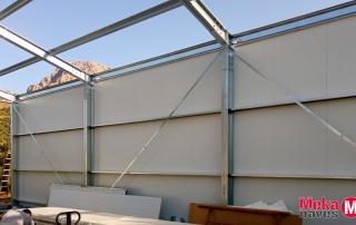 Nave industrial para almacén agrícola en Málaga, Mekanaves