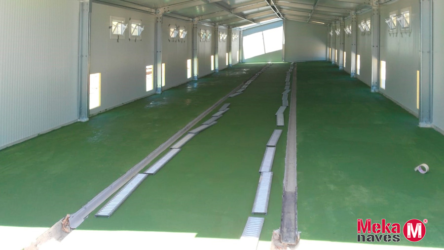 Nave modular y económica para centro canino en Málaga, Mekanaves