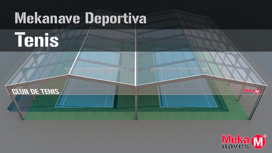 Cubierta pista de tenis