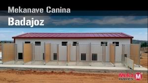 Galería de fotos de nave canina en Badajoz, Mekanaves