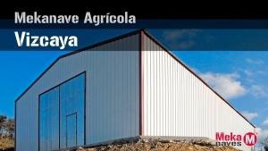 Galería de fotos proceso de montaje de nave agrícola en Vizcaya