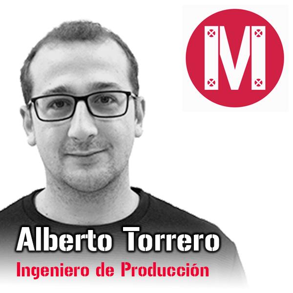 Alberto Torrero. Ingeniero de Producción Mekanaves