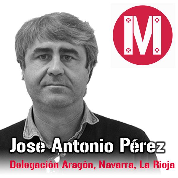 Jose Antonio Perez. Delegación Aragón, Navarra, La Rioja. Mekanaves