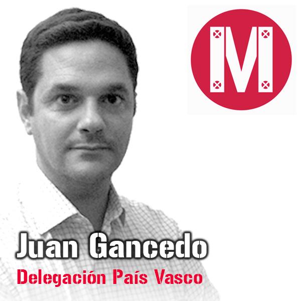 Juan Gancedo. Delegación País Vasco. Mekanaves