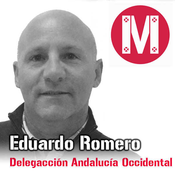 Eduardo Romero, delegado comercial de Andalucía Occidental