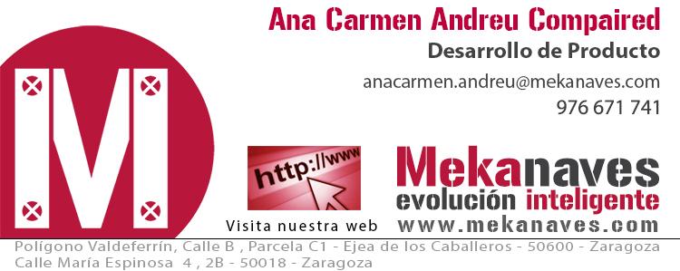 Ana Carmen Andreu - Mekanaves