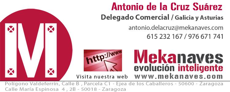 Firma Antonio de la Cruz