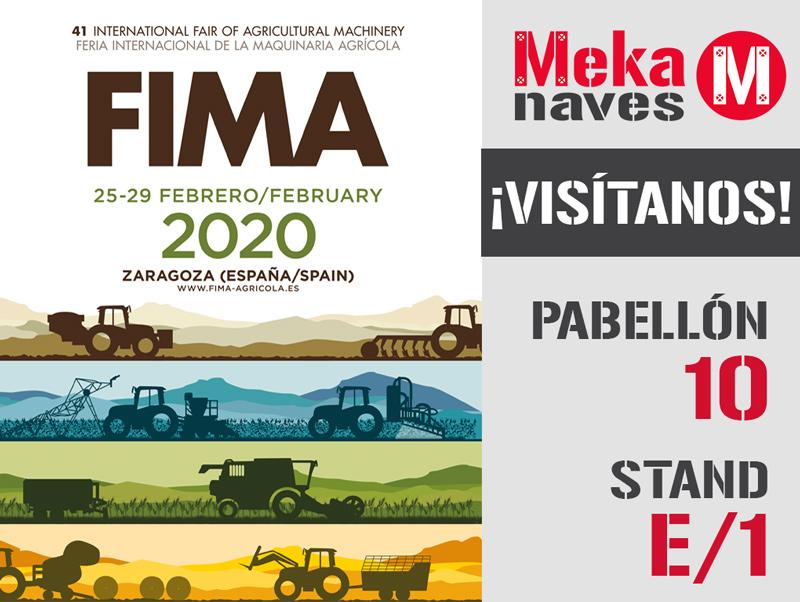 Mekanaves en FIMA 2020