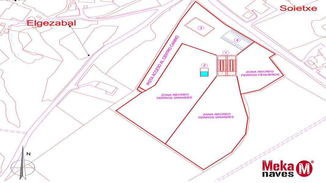 Plano ubicacion centro canino