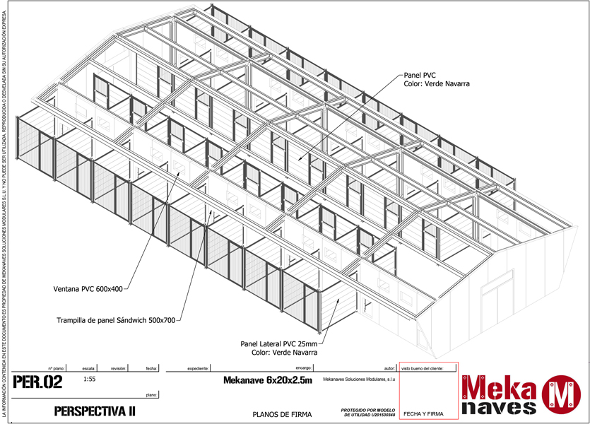 Centro canino prefabricado metálico en Miranda de Ebro
