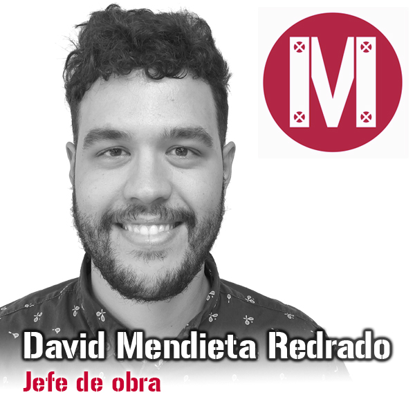 David Mendieta - Jefe de obra