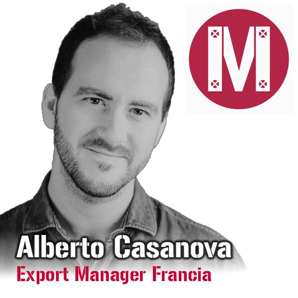Alberto Casanova Export Manager Francia
