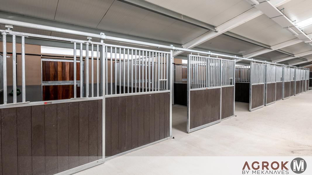 Boxes para caballos interiores y exteriores