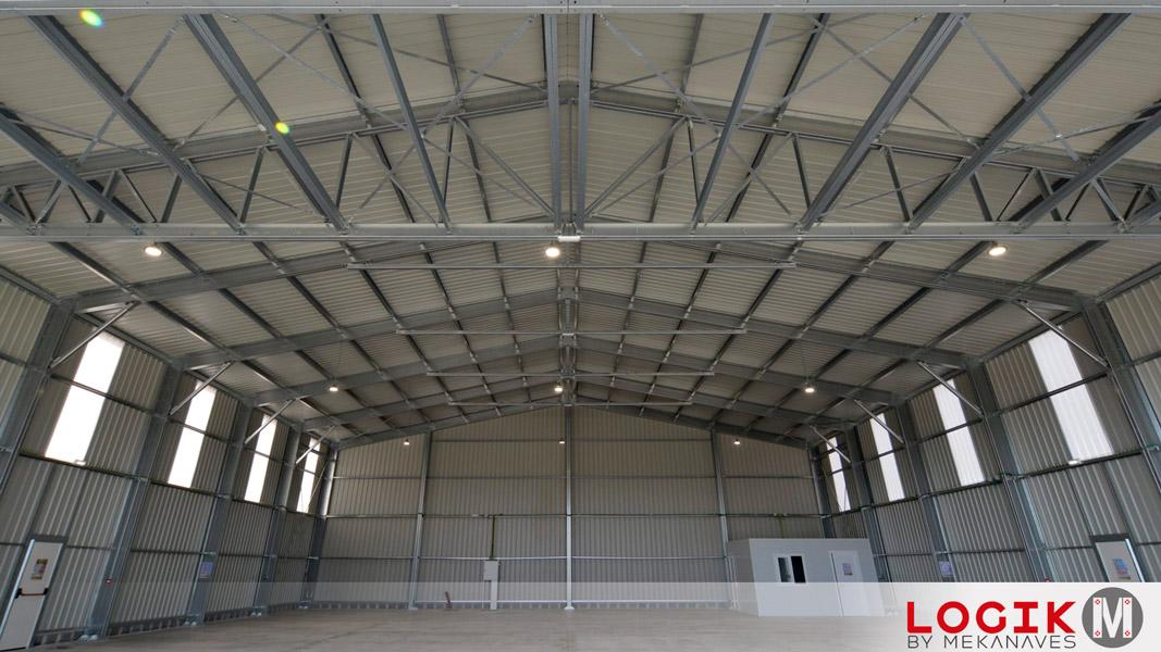 Hangar prefabricado acero galvanizado