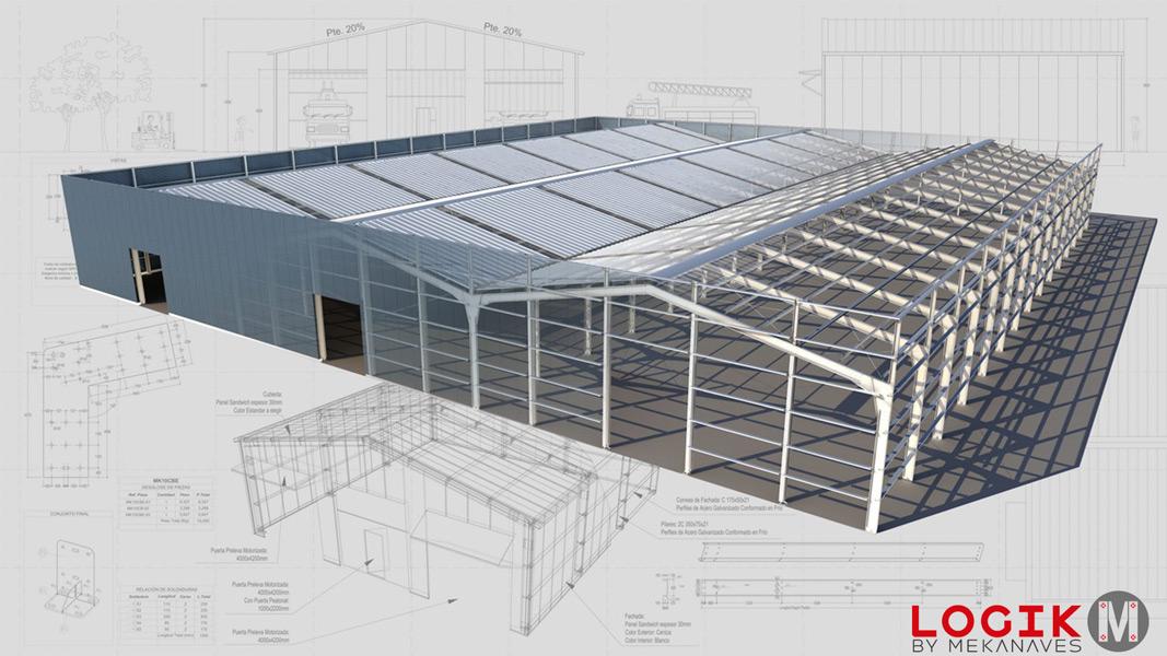 Hangar metálico prefabricado