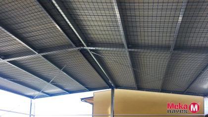 cubierta prefabricada para tenis