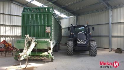 almacen agricola prefabricado para maquinaria